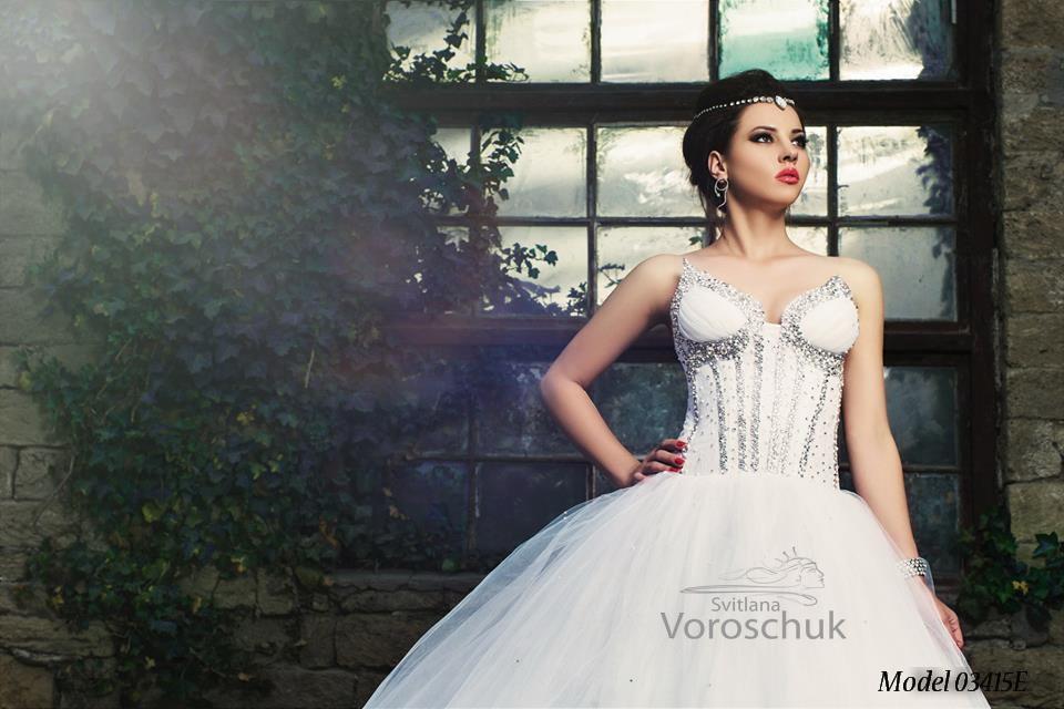 Платье свадебное, модель 15-34