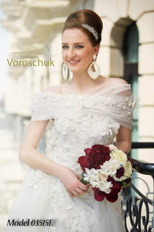 Платье свадебное, модель 15-35