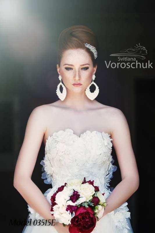 Платье свадебное, модель 15-40
