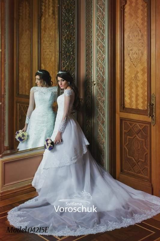 Платье свадебное, модель 15-42