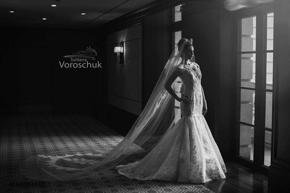 Платье свадебное, модель 15-43