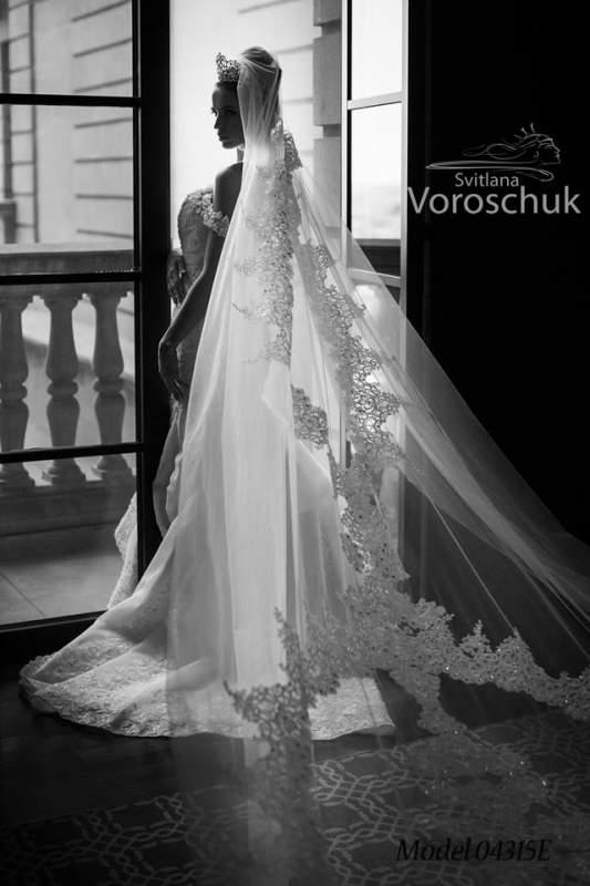 Платье свадебное, модель 15-45