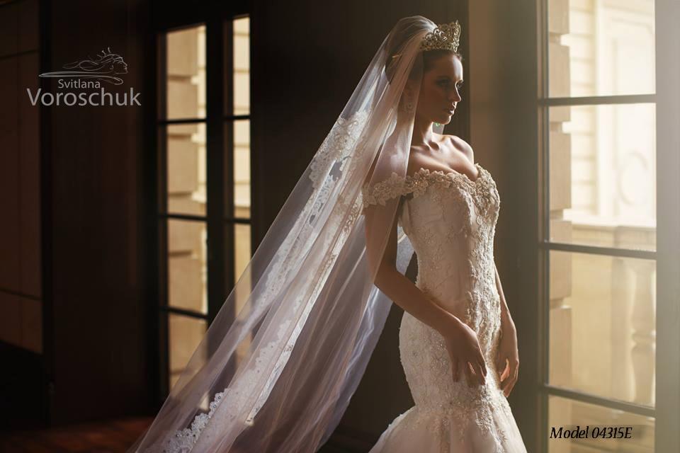 Платье свадебное, модель 15-46