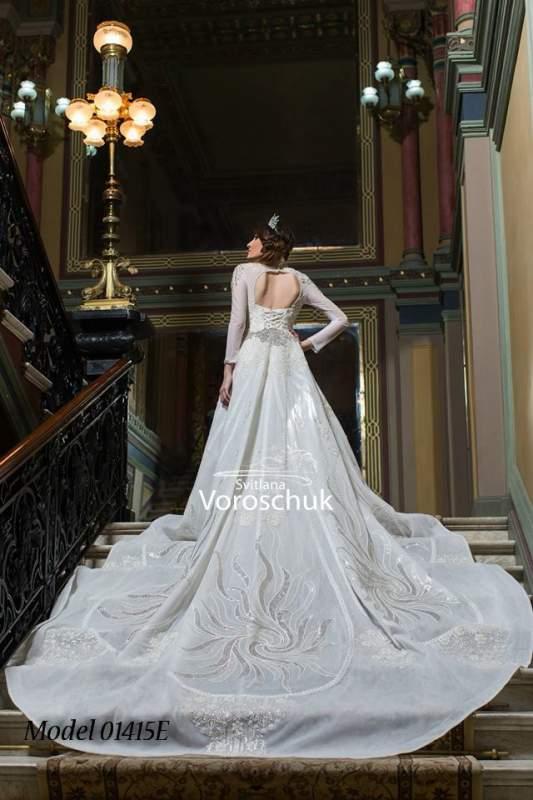 Платье свадебное, модель 15-48