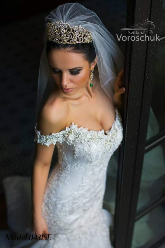 Платье свадебное, модель 15-49
