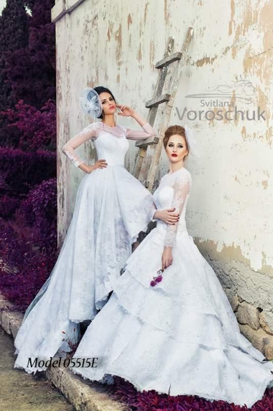 Платье свадебное, модель 15-55