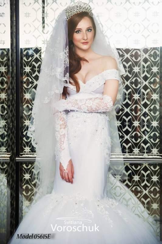Платье свадебное, модель 15-56