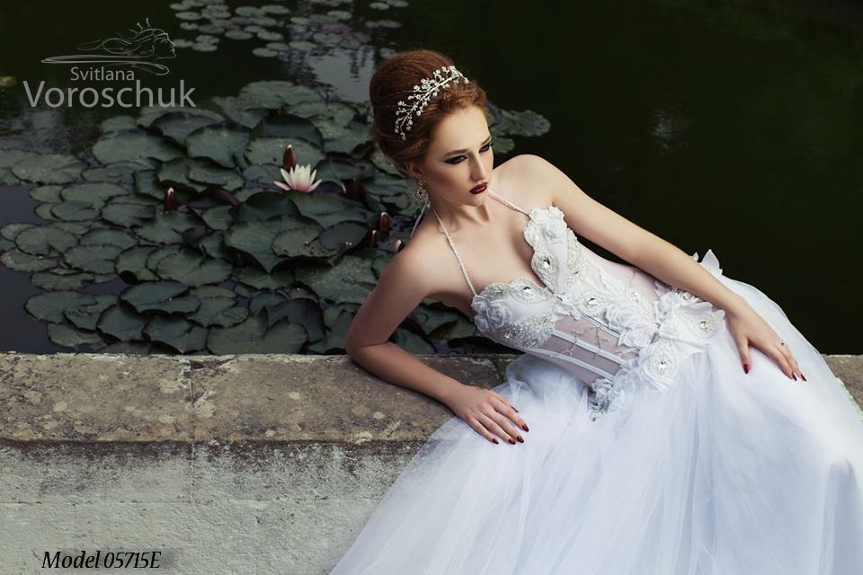 Платье свадебное, модель 15-57