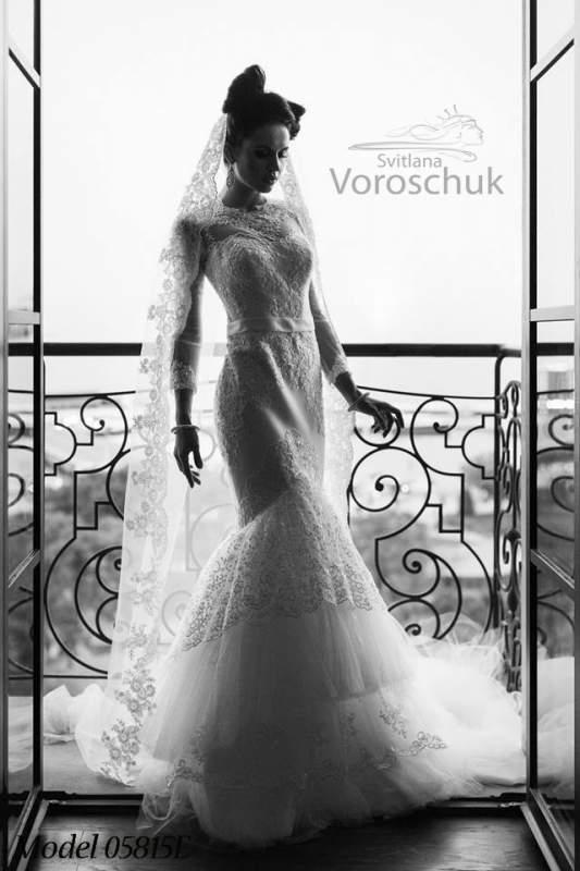 Платье свадебное, модель 15-58