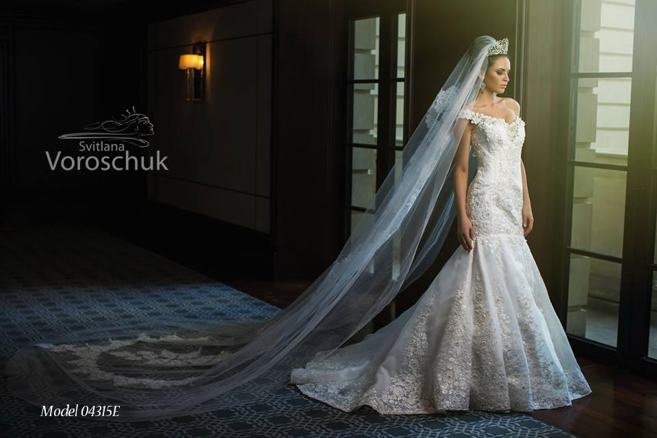 Платье свадебное, модель 15-65
