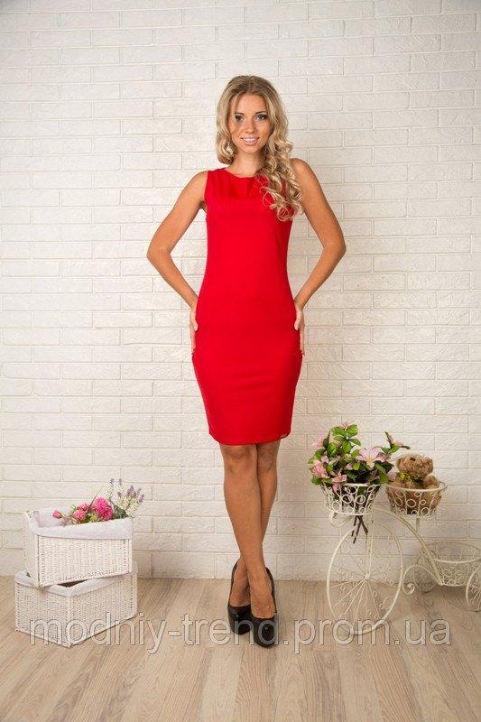 Червоне плаття із сіткою на спині купити в Одеса 47ba19c5b1dbf