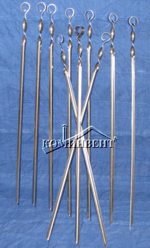 Шампура из нержавеющей стали для барбекю или мангала требуемой длины под заказ.Изготовим мангалы, барбекю, шашлычницы, коптильни из нержавеющей стали по индивидуальному заказу.