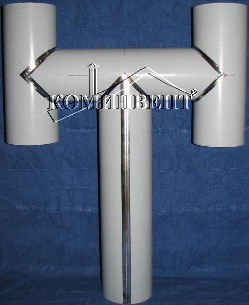"""Окончание дымохода тип """"Н"""" устанавливается на верхушку дымохода и стыкуется с ним через конус. Материал: Сталь нержавеющая AISI 316L ( 14401 ), изготавливается по индивидуальному заказу."""