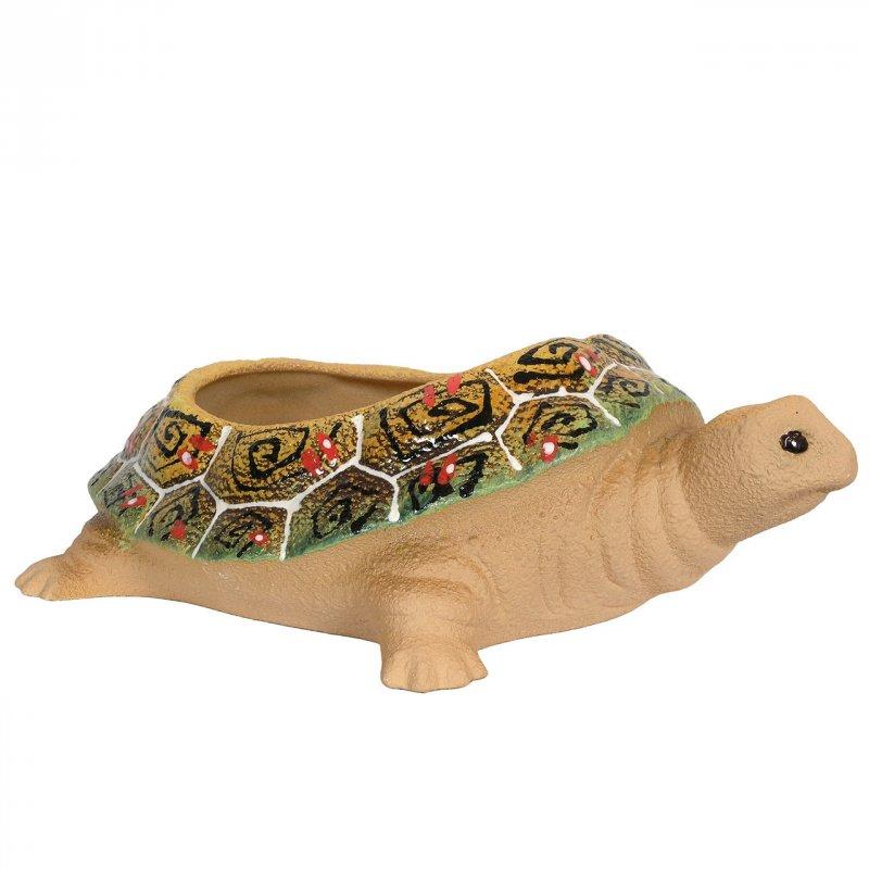 Цветочный горшок Черепаха