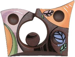 Ваза керамическая Хайтек