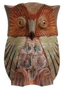Статуэтка керамическая Филин