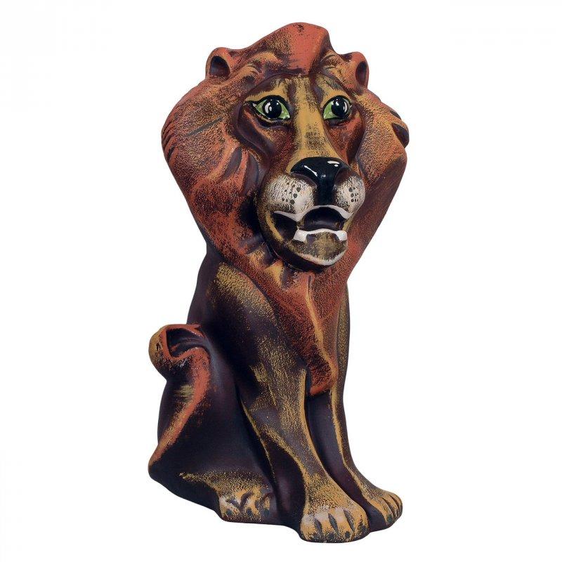 Статуэтка керамическая Лев