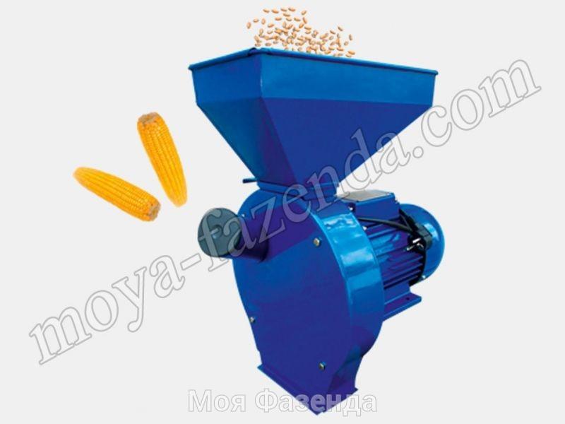 Дробилка для зерна и кукурузы ДТЗ КР-02 (код D-1)