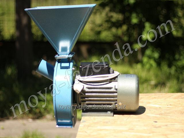 Дробилка для кукурузы и зерна электрическая Лан 2 (код S-4)