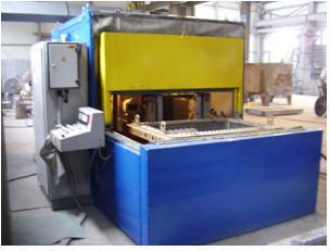 Оборудование для выбивки формовочных и стержневых смесей  из отливок любой сложности и марок, очистка от керамики