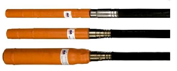 Вибронаконечники d-51;  d-76, валы гибкие 3 метра, 4,5 метра, запасные части к вибраторам глубинным