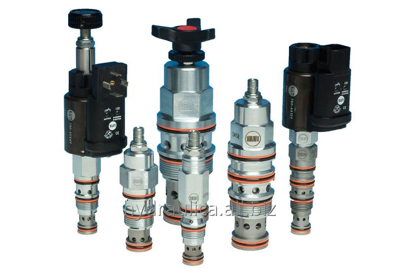 Купить Клапан предохранительный модульного и ввертного типа Argo-Hytos,Bosch Rexroth,Duplomatic,Parker,Sun Hydraulics