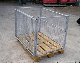Buy The container is pallet mesh