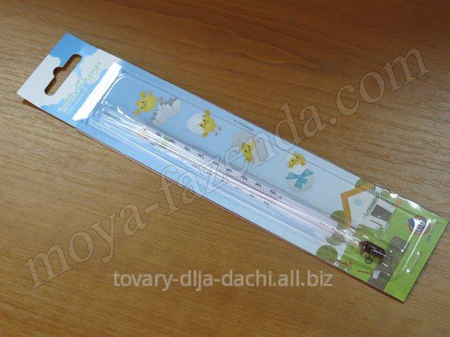 Спиртовой градусник в инкубатор (код M-12)