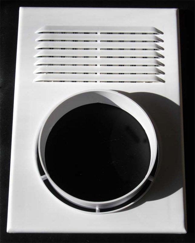 Купить Вентиляционная решетка для естественной и принудительной вентиляции с присоединенным фланцем