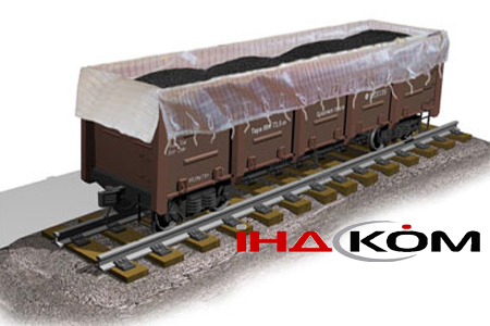 Buy The insert for the railway gondola car - is intended for transportation of loose freights