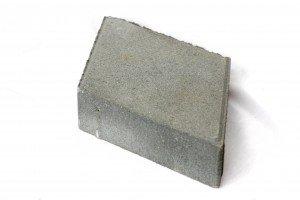 Купить Брусчатка РОМБ прессованный серый 240х140х45