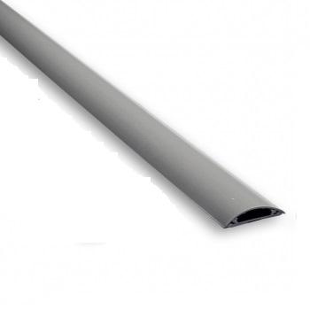 Купить Короб напольный 50x11 мм , серый , 1 м
