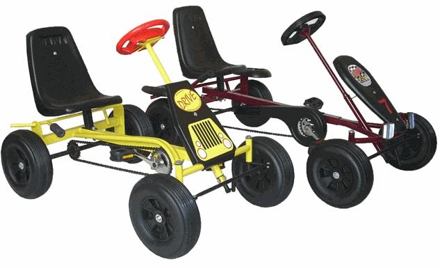 Четырехколесный велосипед для детей своими руками