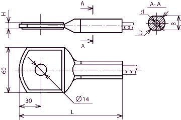 Зажим аппаратный А1А