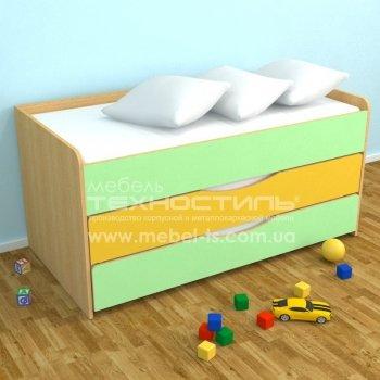 Кровать детская трехъярусная