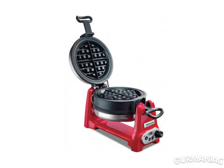 buy kitchenaid waffle iron red 5kwb100eer - Kitchen Aid Waffle Makers