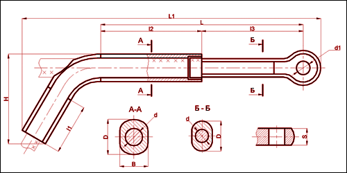 Зажим натяжной транспозиционный ТРАС-300-1