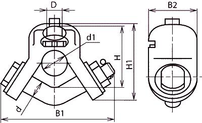 Ушки УСК-40-28