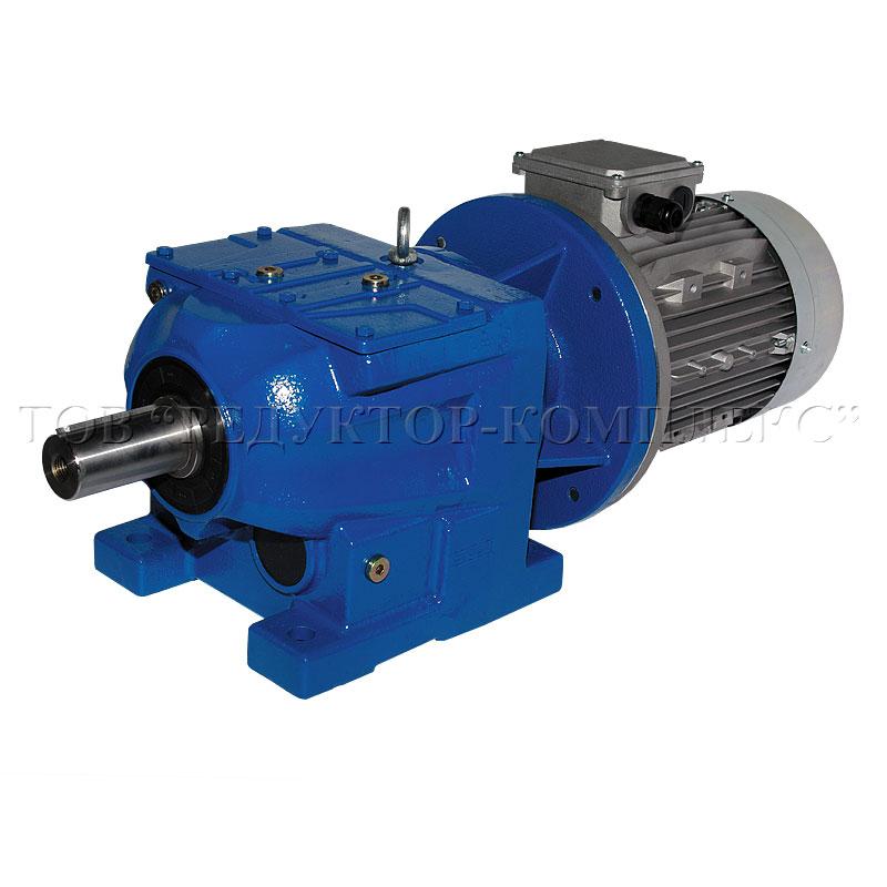 Мотор-редуктор цилиндрический соосный GS-Drive серия E-R(RF)