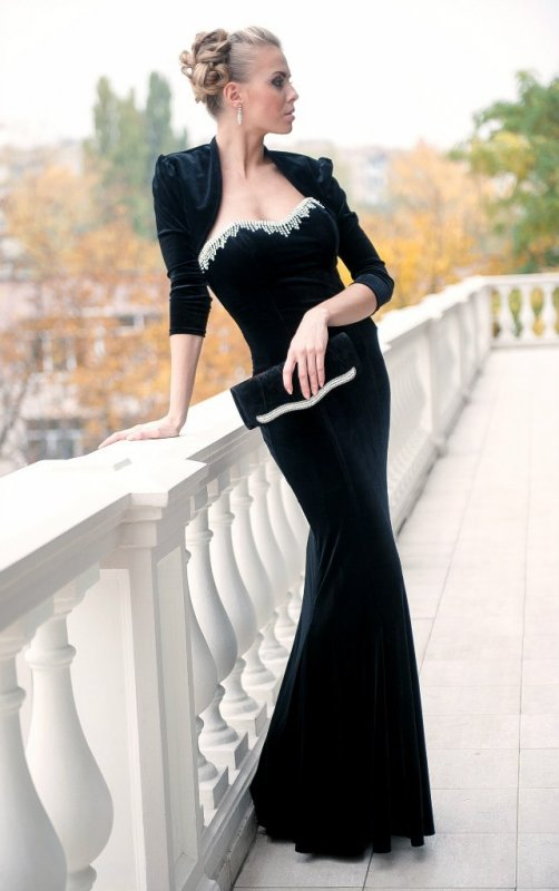 Платье с болеро украина