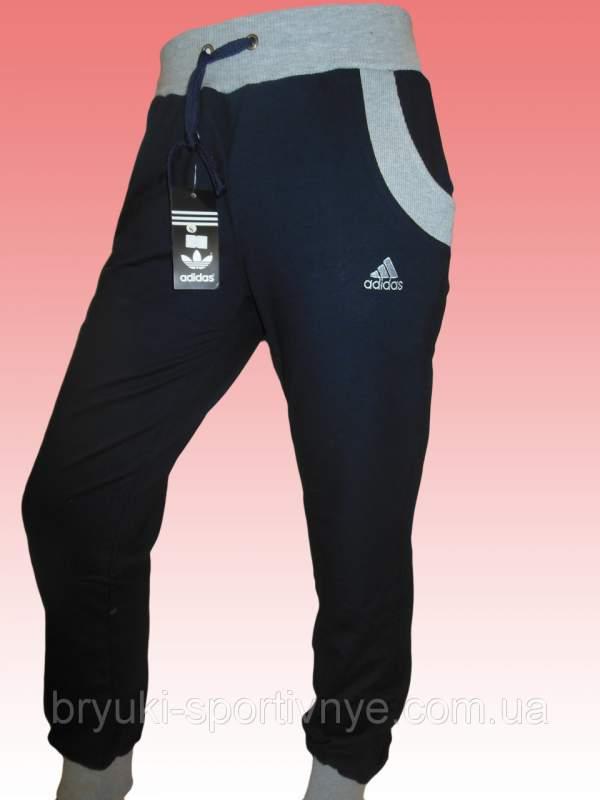 395b96e2d1f1 Штаны спортивные мужские трикотажные под манжет Adidas Код: 680 ...