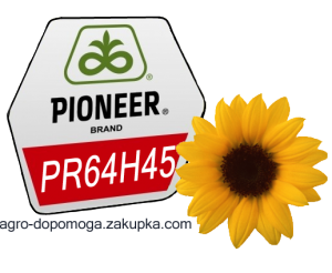 Семена подсолнечника Пионер PR64H45 - посевной материал