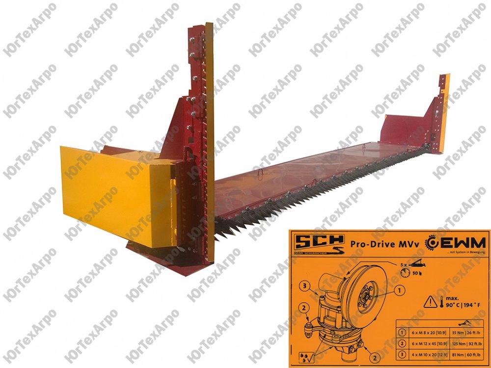 Рапсовый стол ПРБЖ от 4 до 9,1м. с приводом МПН Shumacher