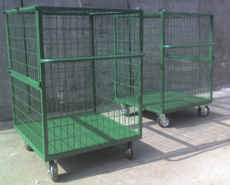 Buy The metal container with net walls