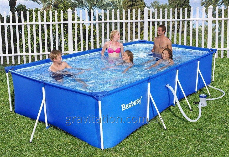 Каркасный бассейн Bestway 56405 (56044). Детский Splash and Play Frame 400 х 211 х 81 см