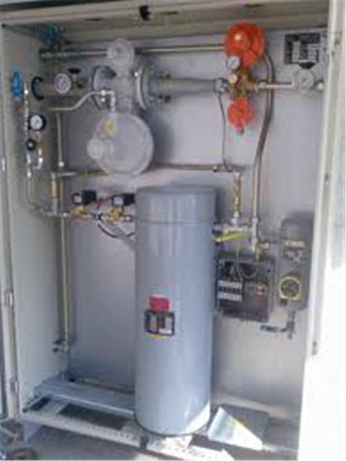 РЕГУЛЯТОРНАЯ ГРУППА СУГ 1 И 2 СТУПЕНИ с резервной веткой редуцирования и узлом учета газообразной фазы СУГ (200 кг/час).