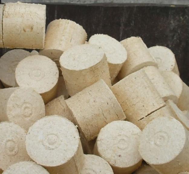 Купить Изготовление брикетов из соломы Украина