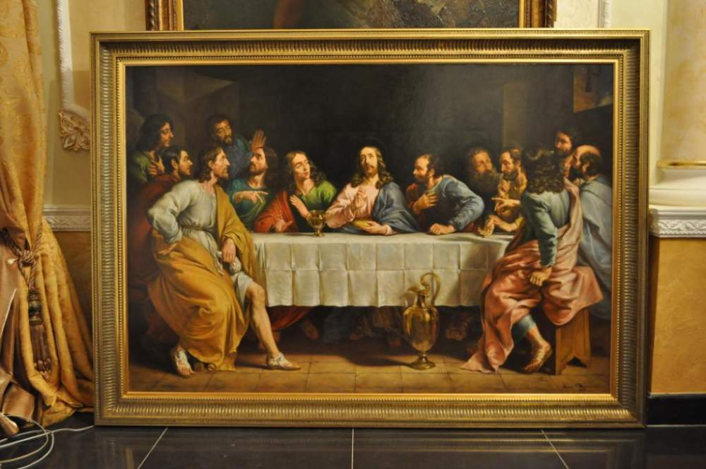 Picture Copy Of The Last Supper Filippa De Shampen 108х158 Buy In Lvov