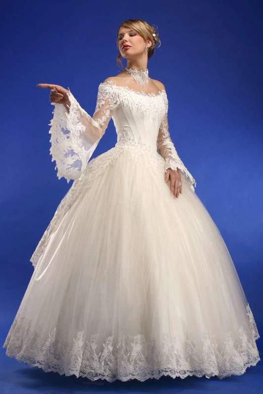 С волоке свадебные платья