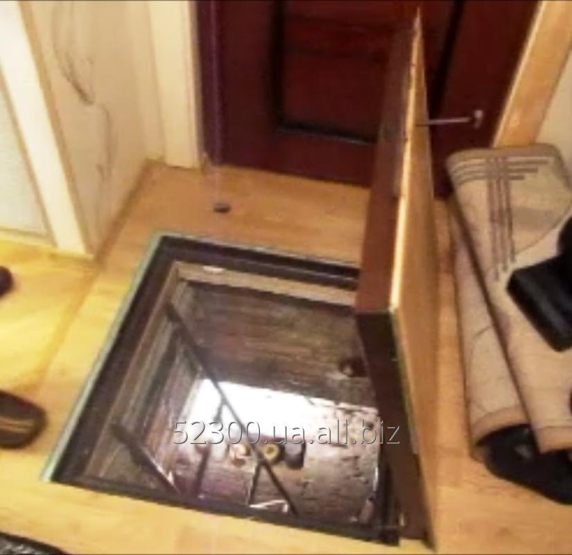 Купить Потайной люк в подвал под плитку